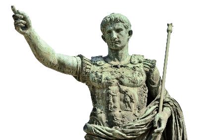 Intermediate-latin-III-roman-soldier-statue