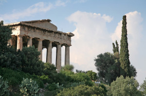 athens landmarks - temple of hephaistos